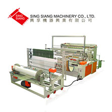Servo Motor Driven Jumbo Perforating Bag Making Machine