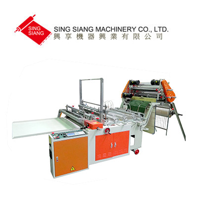 Servo Motor Driven Bottom Sealing Bag Making Machine with Free Position Pouch Device
