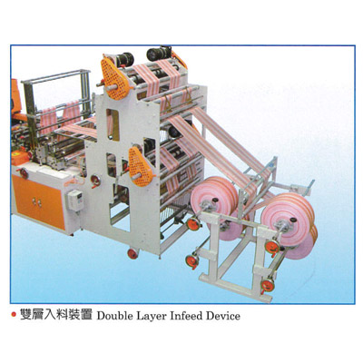 Double Layer In-feeding Device