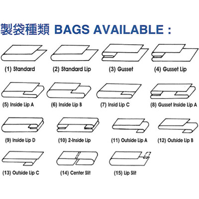 Bags Available