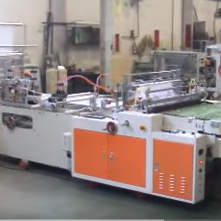 DIE CUT BAG SIDE SEALING BAG MACHINE