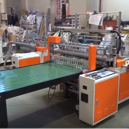 2 Sevo Bottom Seal Machine