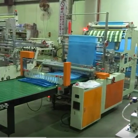 Double Deck Sealing and Cutting Machine SHTF-36
