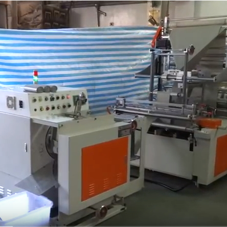 Double Folding Bag Machine