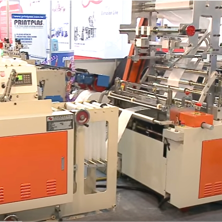 SSM 3 Fold Bag on Roll Machine
