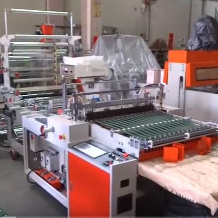 Ultrasonic Side Sealing Bag Machine SHSS-30A