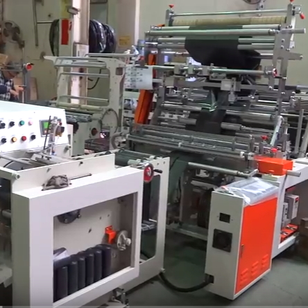 Coreless Bag on Roll Machine SHPF 42+SHRC