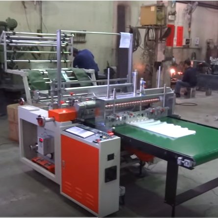 LDPE Standard Bag Sealing and Cutting Machine SHCG-36
