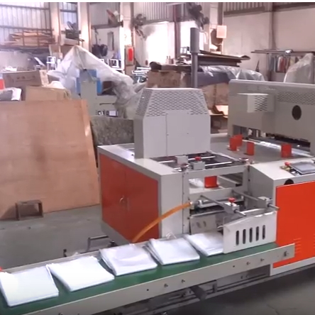 Japan T SHirt Type Garbage Bag Folding Machine SHGF-42ST