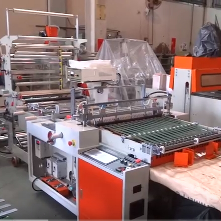 OPP Sticky Bag Ultrasonic Weld Bag Making Machine SHSS-30