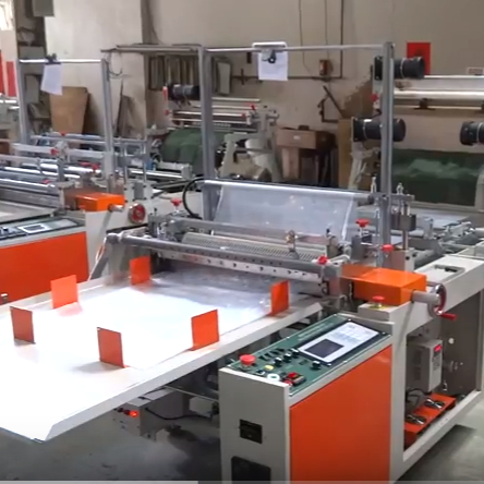 800mm Width Bottom Weld Bag Sealing And Cutting Machine SHCG-36