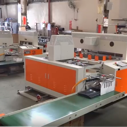 5 Servo 1500mm Width 4 Fold Garbage Bag Folding Machine SHGF-60S